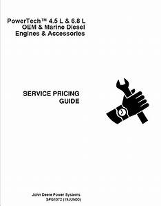 Jd Powertech 4 5l 6 8l Engines Service Pricing Guide Pdf