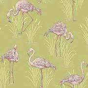 tapeten flamingo gunstig online kaufen lionshome With markise balkon mit barbara becker flamingo tapete
