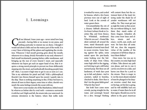 requirements  latin text layout  pagination