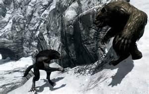 Skyrim Werebear vs Werewolf