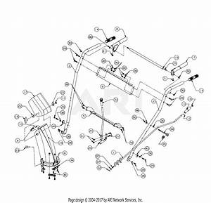 Mtd 317e611d352  1997  Parts Diagram For Handle Assembly