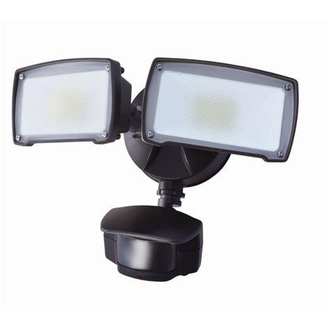 motion flood light with camera shop utilitech pro 180 degree 2 head bronze led motion