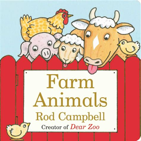 farm animals book  rod campbell official publisher