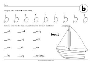 letter b phonics activities and printable teaching resources sparklebox