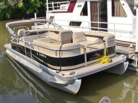 Used Pontoon Boats Without Motor by 2011 Bennington 24 Sli Luxury Pontoon Boat Walk Around
