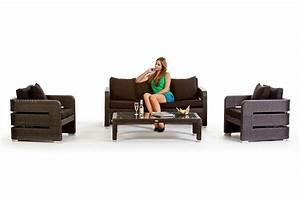 Lounge Set Holz : gartenmobel gunstig rattan interessante ideen f r die gestaltung von gartenm beln ~ Whattoseeinmadrid.com Haus und Dekorationen