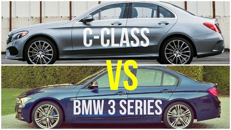 2015 Bmw 3 Series Vs Mercedes C-class || Comparison