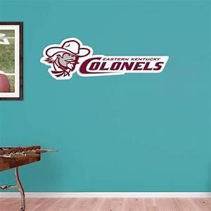 Eastern Kentucky Colonels Logo Wall Decal Shop Fathead
