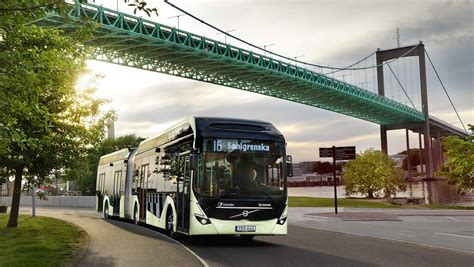 volvo receives europes largest order  electric buses