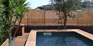 creation jardin de ville avec piscine marseille roucas With ordinary jardin paysager avec piscine 6 creation