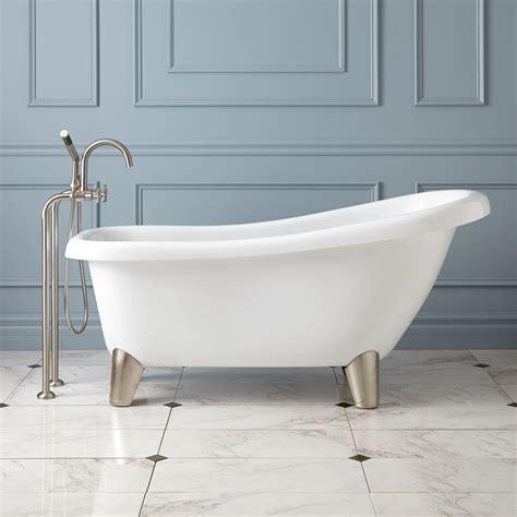 modern bathroom tub edwin acrylic slipper tub modern bathroom
