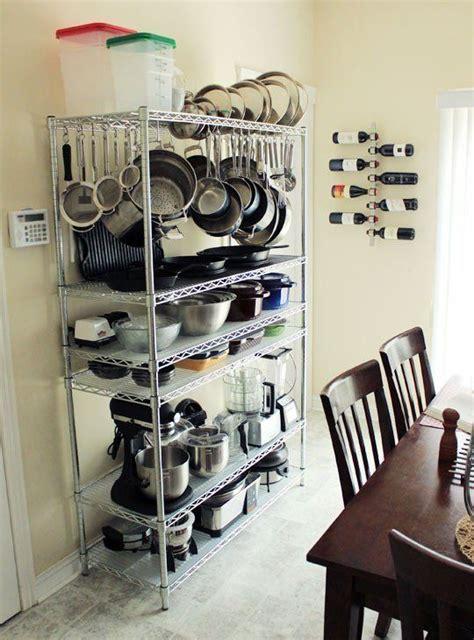 smart places  put  pot rack diy kitchen storage wire shelving units diy kitchen
