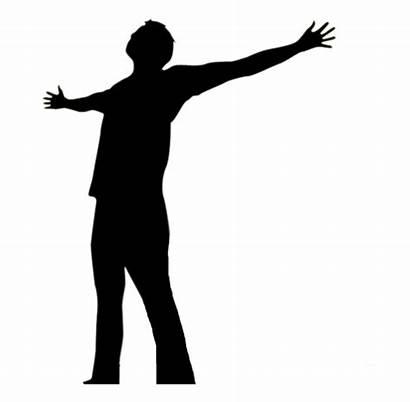 God Silhouette Clip Worship Prayer Praise Praising