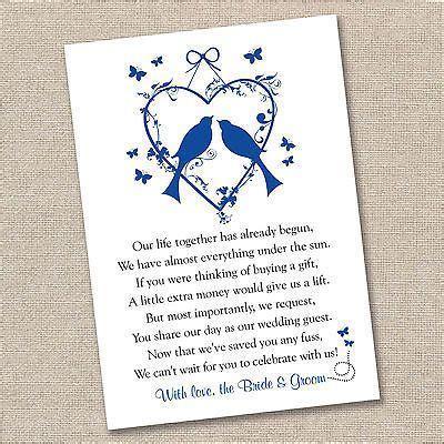 details    vintage lovebirds wedding poem cards