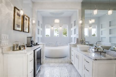 25 Terrific Transitional Bathroom Designs That Can Fit In Shower Curtain For Claw Foot Tub Dark Grey Moen Rods Blue Ombre Jute Jellyfish Fancy Curtains Hookless Extra Long