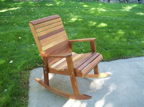 wood country tl red cedar rocking chair rocking chair