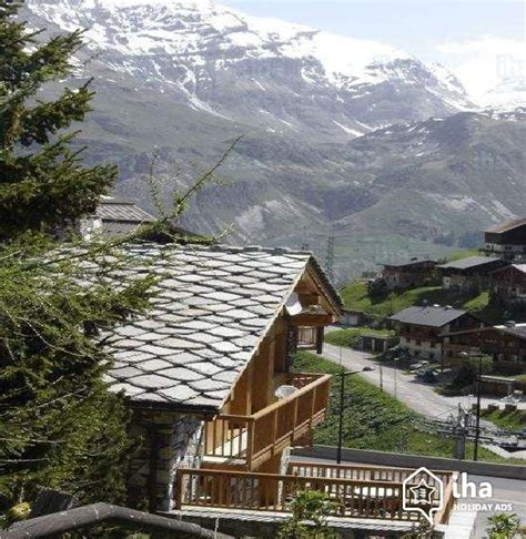 chalet for rent in tignes le lac iha 73060