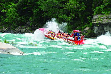 Niagara Falls Jet Boat Ride Ny by Whirlpool Jet Tours Niagara Region Skylon Tower
