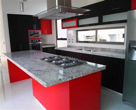 cocina roja gris  blanco ikea blanca  modelos