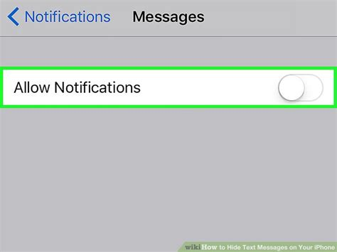 how do you hide messages on iphone 4 ways to hide text messages on your iphone wikihow