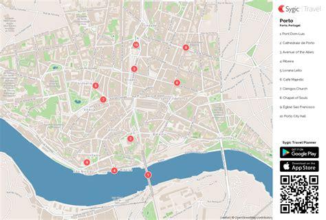 Carte De Touristique à Imprimer by Porto Carte Touristique Imprimable Sygic Travel