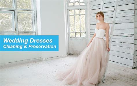 wedding dress cleaning wedding dress