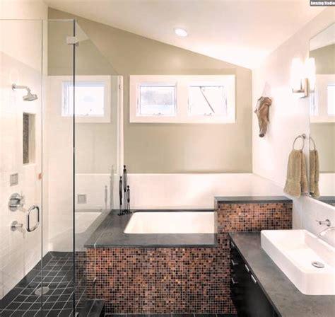 Ideen Badezimmer Mit Dachschräge Terakotta Fliesen Youtube