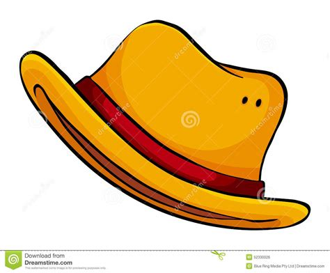 Yellow Hat Stock Vector. Image Of Elementary, Clipart