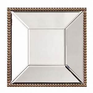 Howard Elliott 99076 Lydia Square Mirror in Antique Gold ...