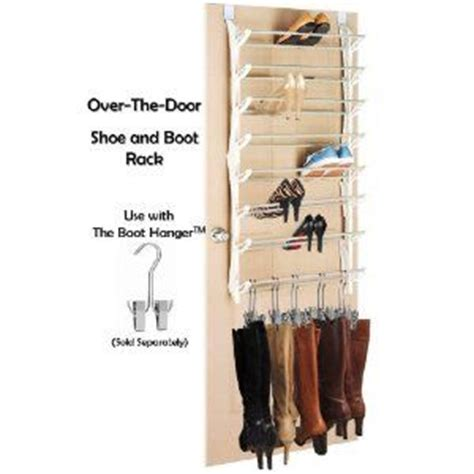 boot rack the doors and door hangings on