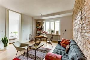 L Steine Streichen : wohnideen wohnzimmer steinwand ~ Frokenaadalensverden.com Haus und Dekorationen