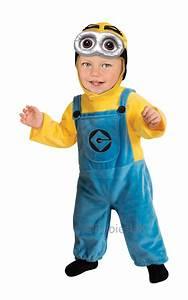 Minion Kostüm Baby : new adult ladies mens despicable me gru dave bob minion fancy dress costume film ebay ~ Frokenaadalensverden.com Haus und Dekorationen