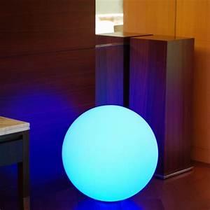 Boule Lumineuse Exterieur Solaire : boule lumineuse multicolore solaire solsty lumisky leds ~ Edinachiropracticcenter.com Idées de Décoration