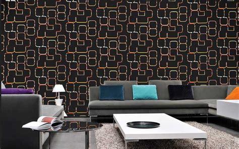 Tapeten Design Wohnzimmer Geometrisch Labirynt Circle Line