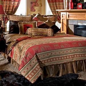 Rustic, Bedding, Full, Queen, Size, Adirondack, Bed, Set