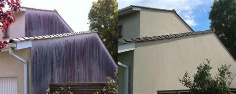 Facade Avant Apres d 233 moussage nettoyage de toiture et fa 231 ade callisto system