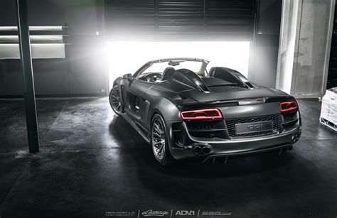 chrome black audi  spyder ppi razor gtr  quarters rear sssupersports