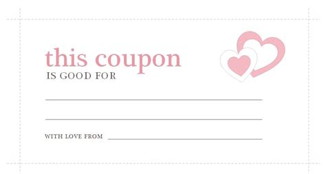 printable coupon template coupon template microsoft word world of exle