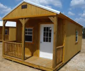 derksen portable treated cabin with porch visit www
