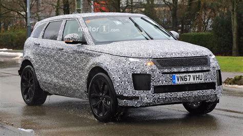 Land Rover Range Rover Evoque 2019 by Heavily Disguised 2019 Range Rover Evoque Spotted