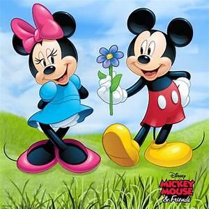 Micky Maus Und Minni Maus : 1339 best images about minnie loves mickey on pinterest disney mickey minnie mouse and donald ~ Orissabook.com Haus und Dekorationen