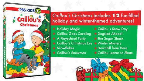 Caillou Gets Grounded On Christmas