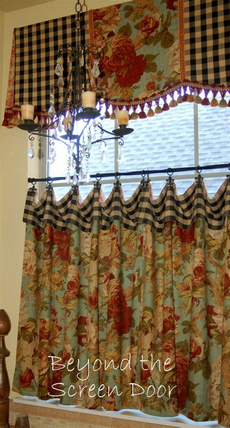 nice french country kitchen curtains on have a mild