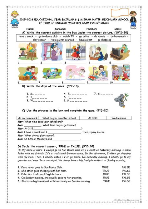 daily routines worksheet worksheet free esl printable worksheets made by teachers