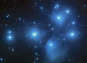 Planet formation seen in the Seven Sisters star cluster.