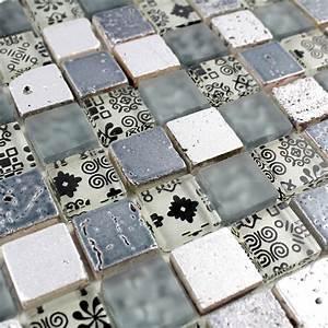 mosaique sol pas cher With carrelage mosaique sol salle de bain
