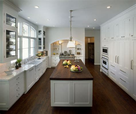 white kitchen cabinets with butcher block countertops butcher block kitchen island traditional kitchen 2204