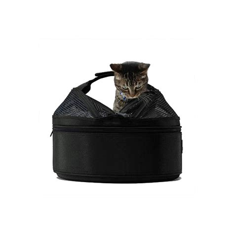 sleepypod mobile pet carrier bed jet black at baxterboo