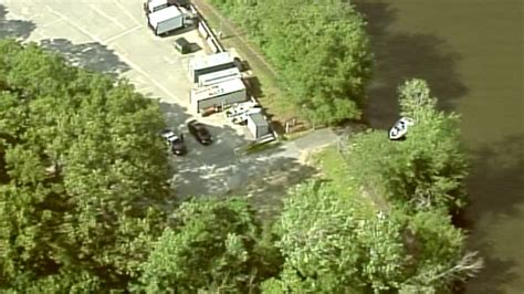 Boating In Boston At Lake Cochituate by Struck In By Boat Propeller On Lake Cochituate In