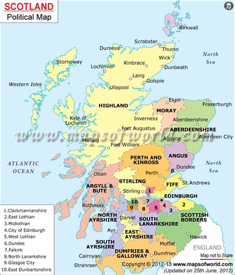 scotland faith   fathers   map country maps